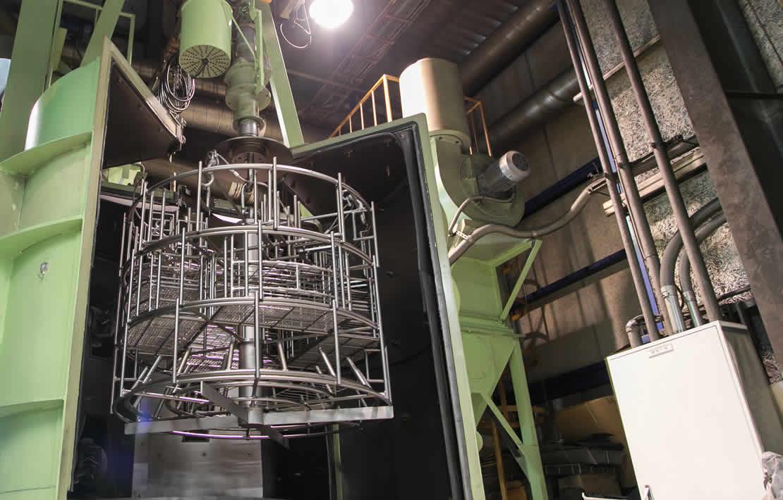 表面処理の生産機械