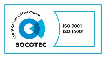 ISO9001和ISO14001认证标志