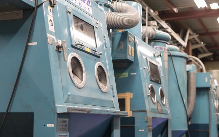 機械部品、切削工具、金型のWPC処理設備