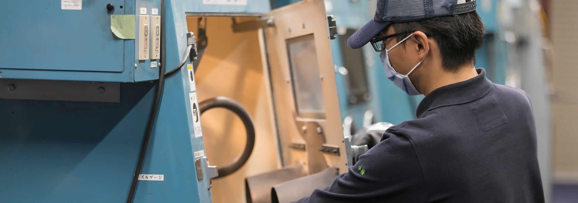 wPC处理精密喷丸处理(机械零部件、切削工具、模具)