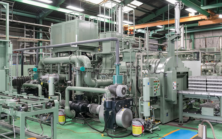 Vacuum thermal treatment (for stainless steel)