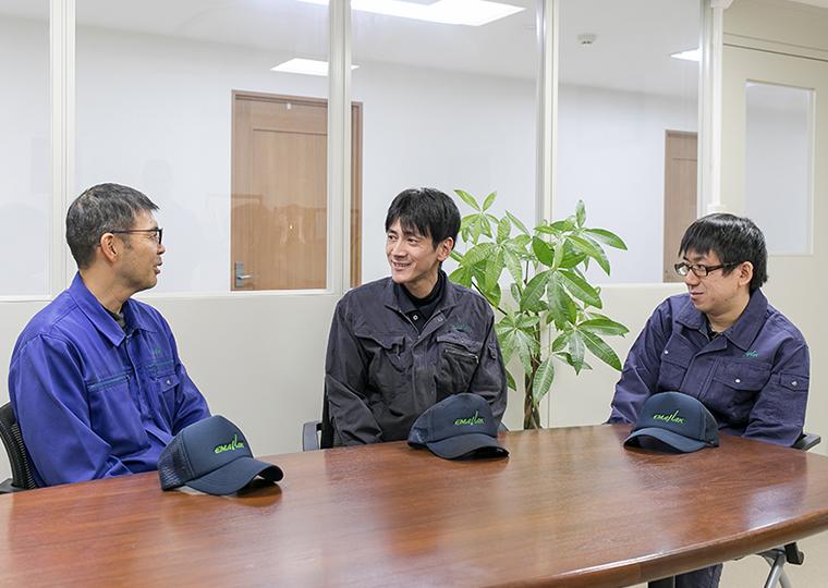 エマナックグループ静岡県清水工場(熱処理)で働いている社員