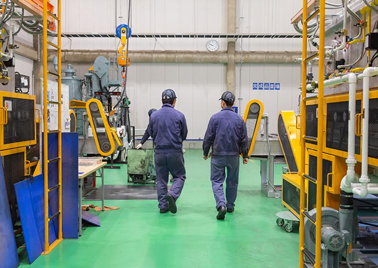 エマナックグループ愛知県海部郡名古屋工場(塗布加工)で働いている社員