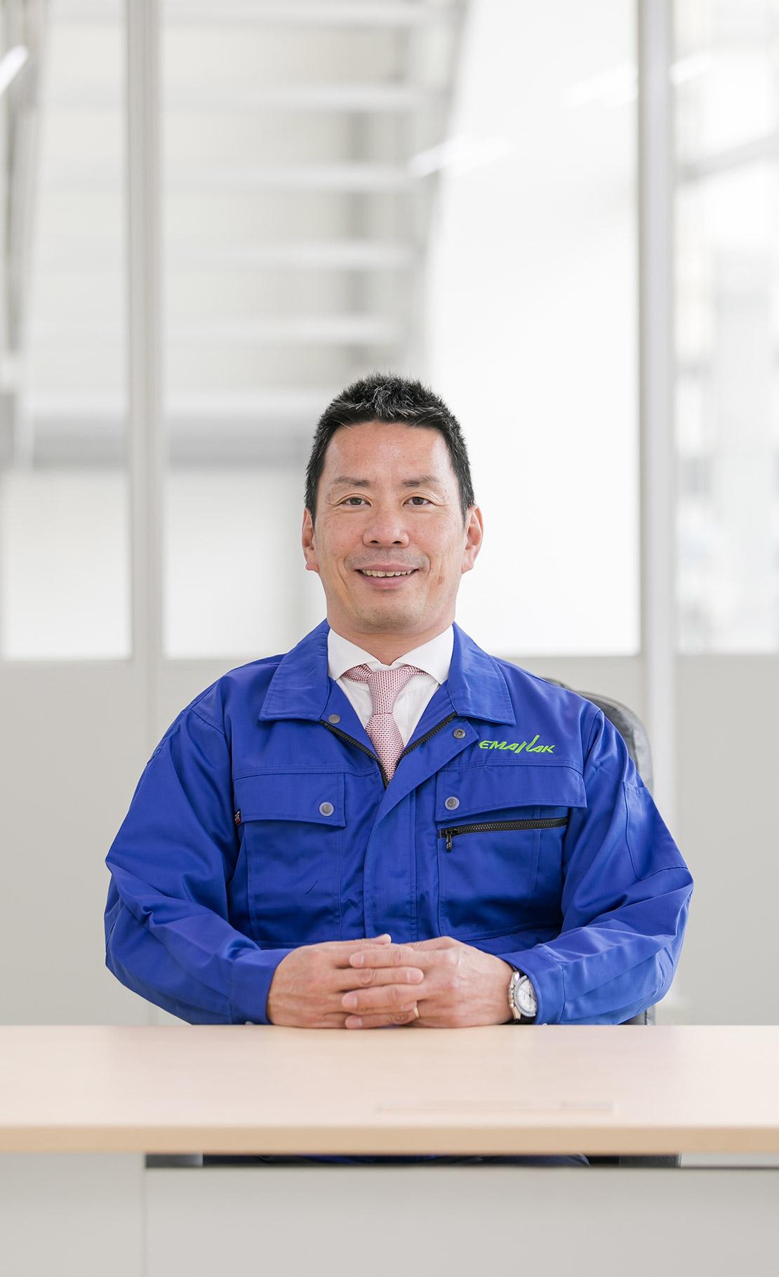 エマナックグループ 代表取締役 田中良典