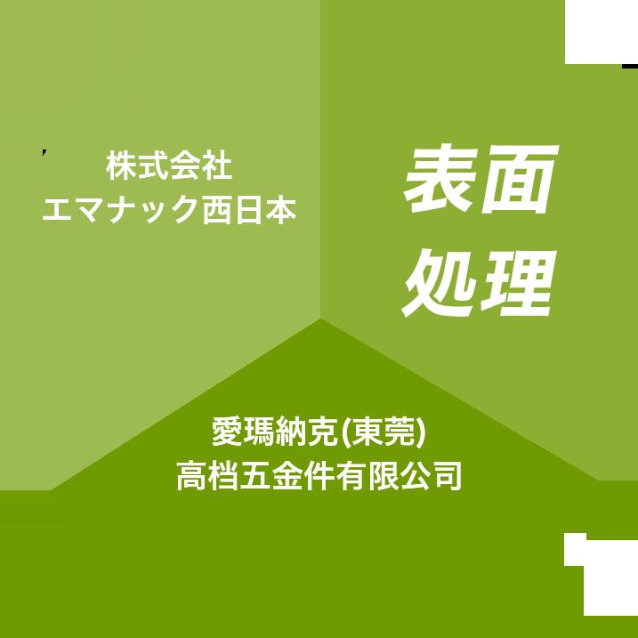 エマナックグループの表面処理事業