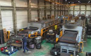 無酸化焼入焼戻し(調質)の杉戸工場