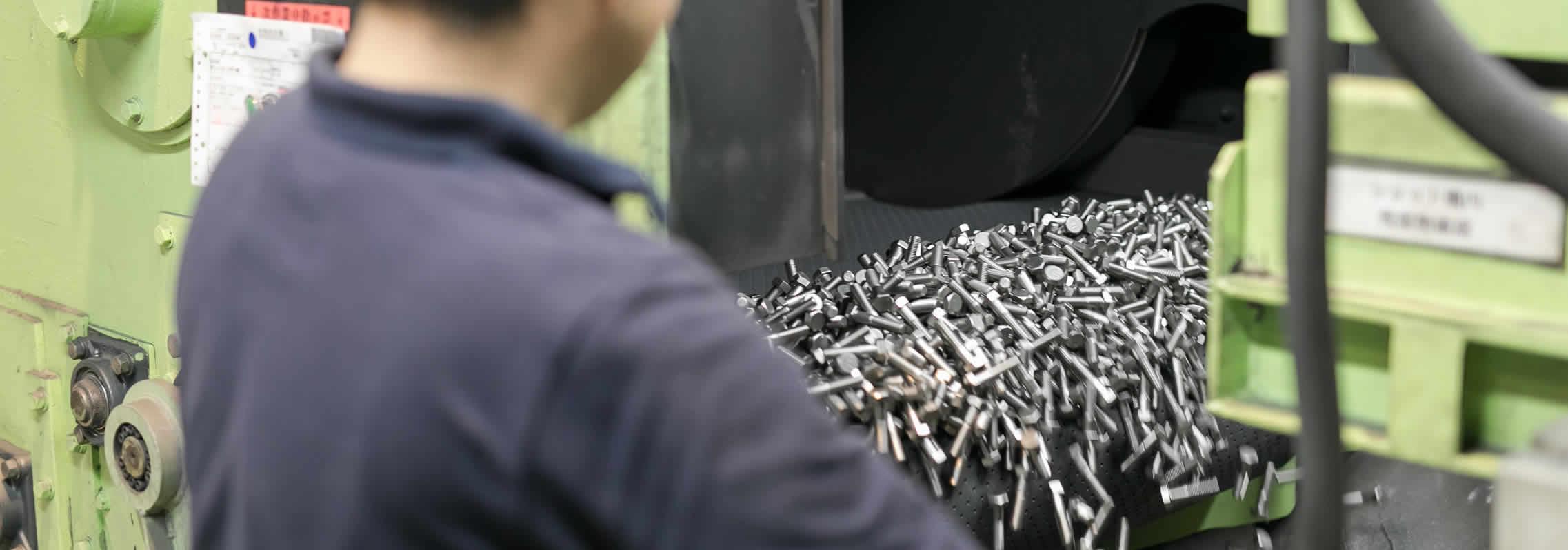 表面処理U&Zコート処理の作業風景