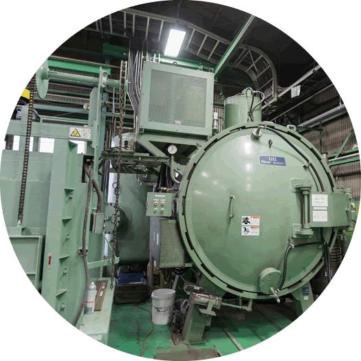 金型・工具類、小型部品の熱処理に適した一室型真空炉